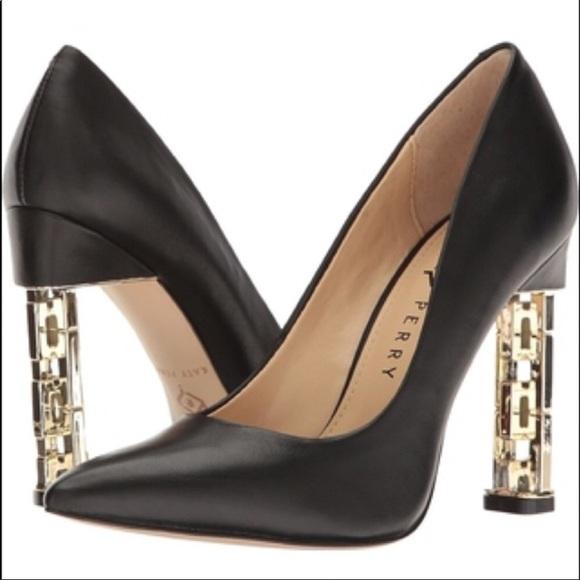 katy perry black pumps